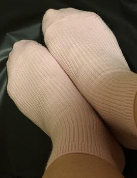 シャルレのズレない靴下1年後のズーム.jpeg